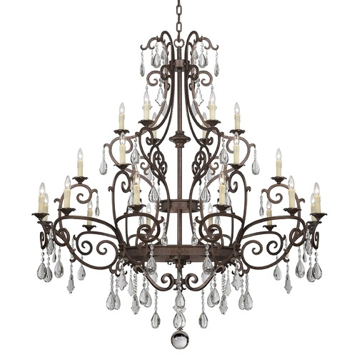 Savoy House Savoy House New Tortoise Shell Crystal Chandelier 1-1407-24-56