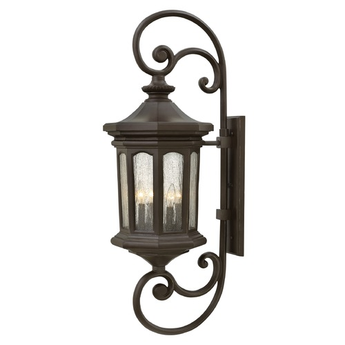 Hinkley Lighting Hinkley Lighting Raley Oil Rubbed Bronze Outdoor Wall Light 1609OZ