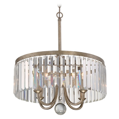 Quoizel Lighting Quoizel Mirage Vintage Gold Pendant Light MIR2818VG
