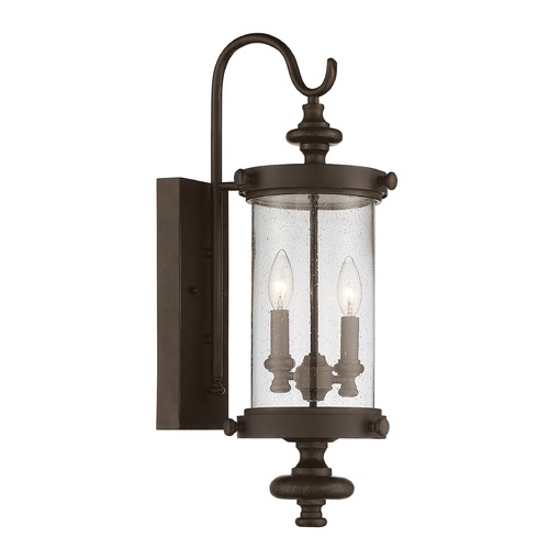 Savoy House Savoy House Lighting Palmer Walnut Patina Outdoor Wall Light 5-1220-40