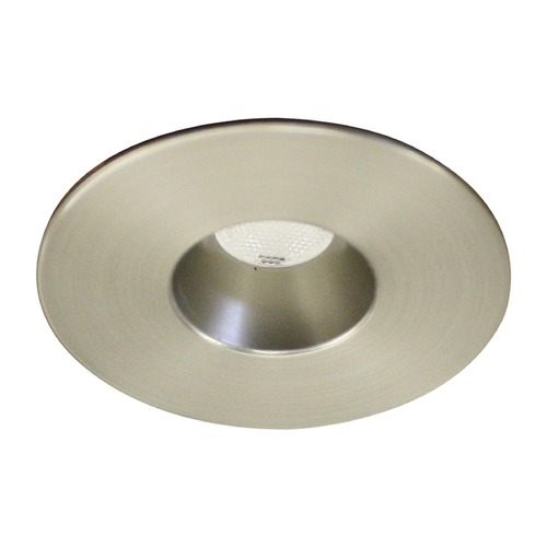 WAC Lighting WAC Lighting Ledme Miniature Recessed Brushed Nickel LED Recessed Trim HR-LED231R-40-BN