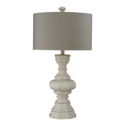 Dimond Lighting Table Lamp in Parisian Plaster with Drum Shade D223