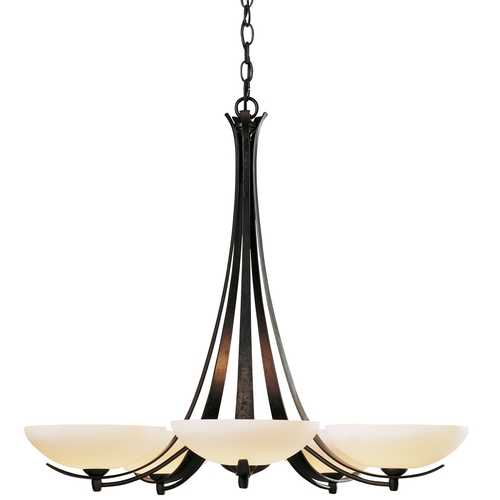 Hubbardton Forge Lighting Five-Light Chandelier 101261-05-G123