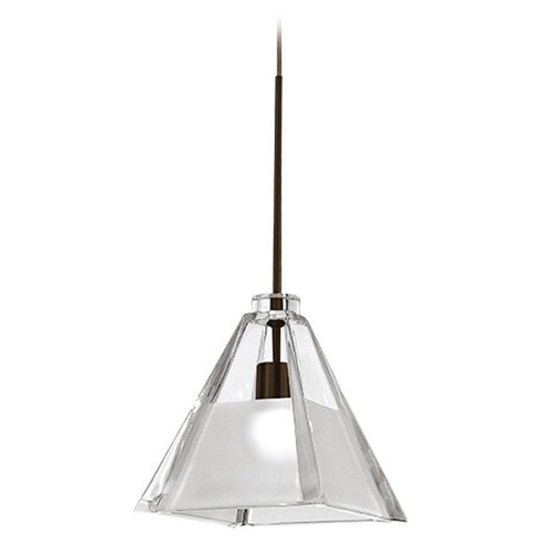 WAC Lighting Wac Lighting European Collection Dark Bronze Track Light Head QP915-CF/DB