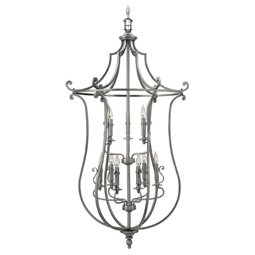 Hinkley Lighting Hinkley Lighting Plymouth Polished Antique Nickel Chandelier 4259PL