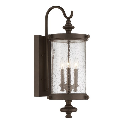 Savoy House Savoy House Lighting Palmer Walnut Patina Outdoor Wall Light 5-1221-40