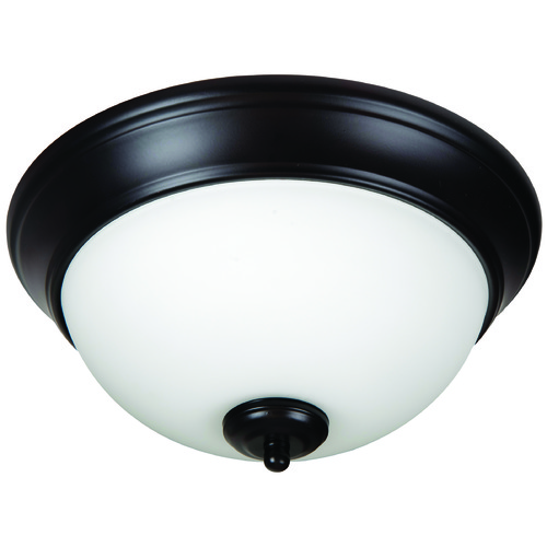 Jeremiah Lighting Jeremiah Pro Builder Flush Oiled Bronze Flushmount Light XP11OB-2W