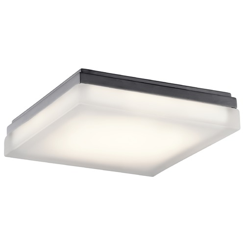 Elan Lighting Elan Lighting Arston Bronze LED Flushmount Light 83802