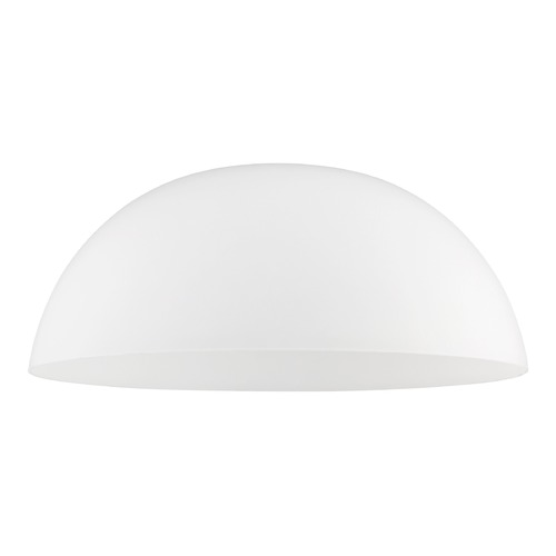 Design Classics Lighting Satin White Glass Shade 13-Inch Wide 1.63-Fitter G1785-WH