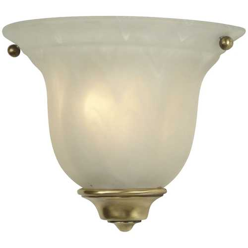 Dolan Designs Lighting Small Wall Sconce with Antique Brass Finish 225-18