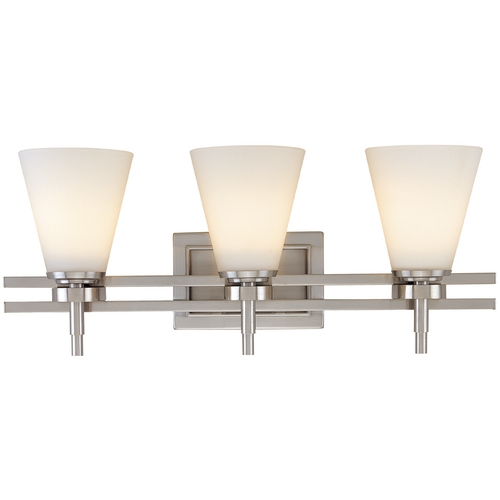 Dolan Designs Lighting Three-Light Bathroom Fixture 3213-09