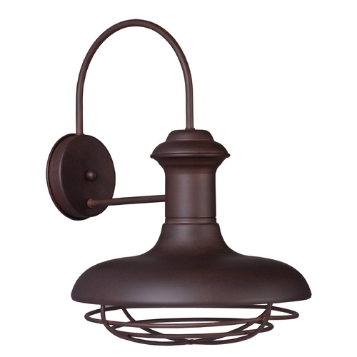 Maxim Lighting Maxim Lighting Wharf Empire Bronze Outdoor Wall Light 35013EB