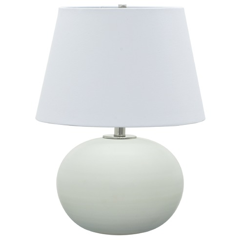 House of Troy Lighting House Of Troy Scatchard White Matte Table Lamp with Empire Shade GS700-WM