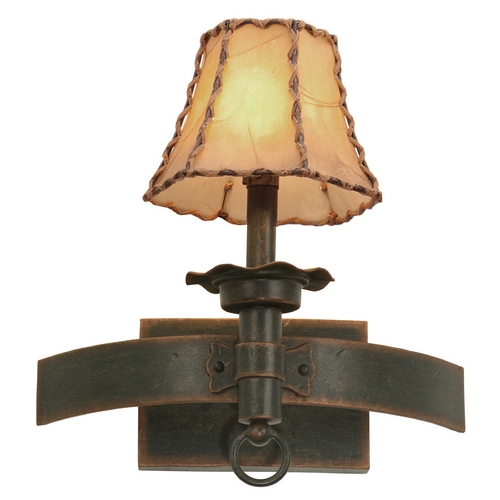 Kalco Lighting Kalco Lighting Americana Antique Copper Sconce 4211AC/8045