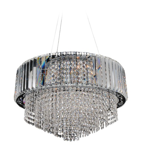 Allegri Lighting Adaliz 24in Round Pendant 022750-010-FR001