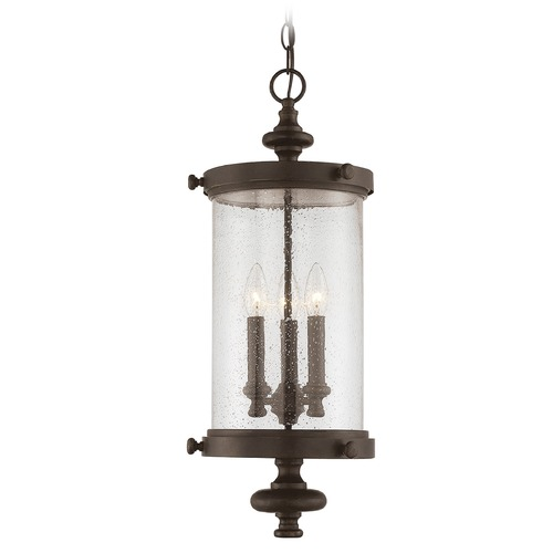 Savoy House Savoy House Lighting Palmer Walnut Patina Outdoor Hanging Light 5-1222-40