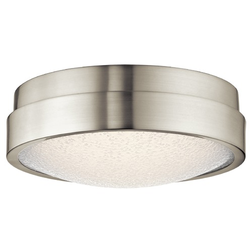 Elan Lighting Elan Lighting Piazza Brushed Nickel LED Flushmount Light 83812