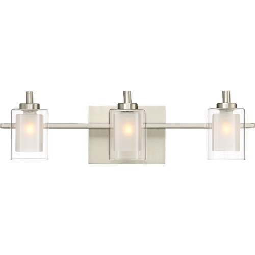 Quoizel Lighting Quoizel Lighting Kolt Brushed Nickel LED Bathroom Light KLT8603BNLED