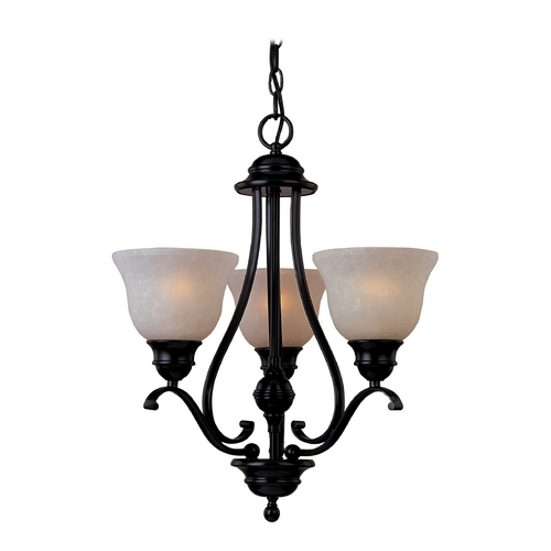 Maxim Lighting Maxim Lighting Linda Ee Oil Rubbed Bronze Mini-Chandelier 85804WSOI