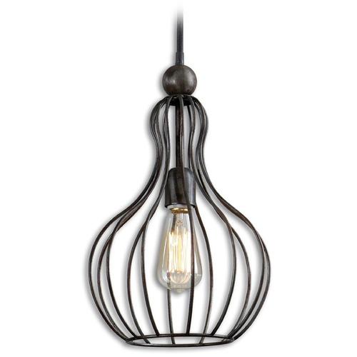 Uttermost Lighting Uttermost Bourret 1 Light Pendant 21979