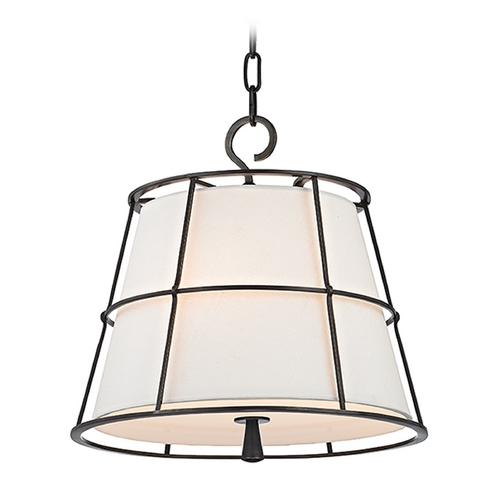 Hudson Valley Lighting Hudson Valley Lighting Savona Old Bronze Pendant Light with Empire Shade 9816-OB