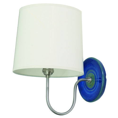 House of Troy Lighting House of Troy Scatchard Blue Gloss Wall Lamp GS725-BG