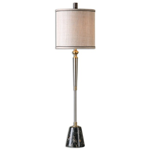 Uttermost Lighting Uttermost Mossano Brushed Nickel Buffet Lamp 29977-1