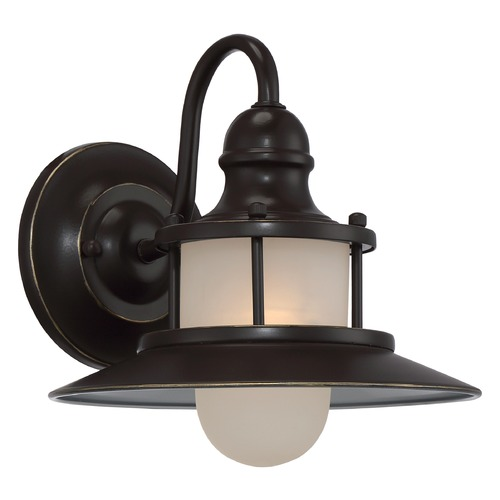 Quoizel Lighting Quoizel New England Palladian Bronze Outdoor Wall Light NA8409PN