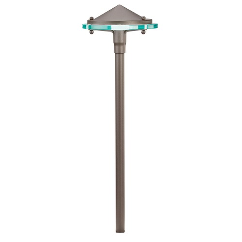 Kichler Lighting Kichler Lighting Textured Architectural Bronze LED Path Light 15817AZT27R