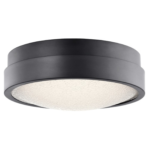 Elan Lighting Elan Lighting Piazza Bronze LED Flushmount Light 83813