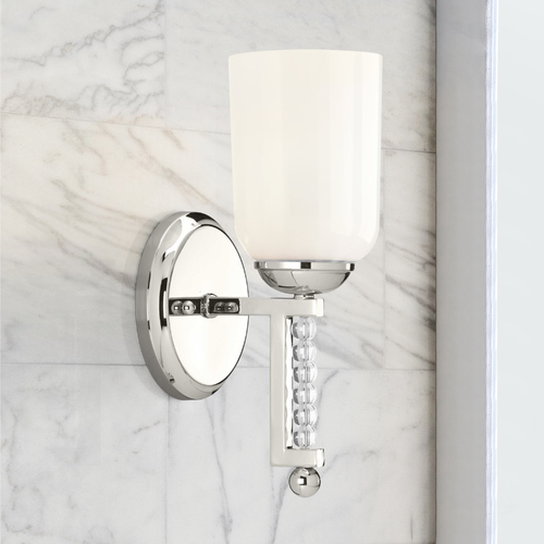 Progress Lighting Progress Lighting Carlyn Polished Nickel Sconce P300100-104
