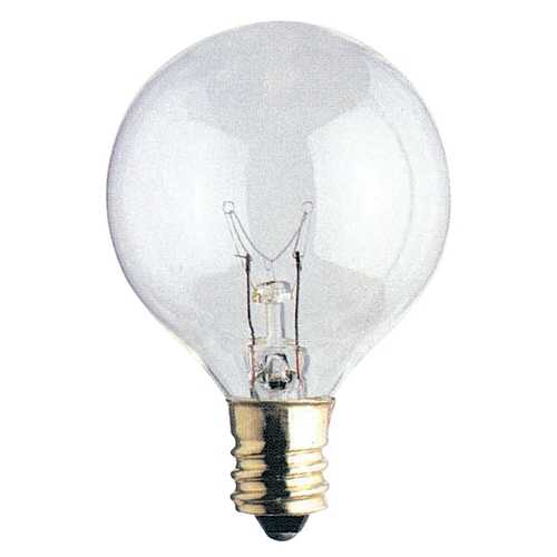 Bulbrite 40-Watt Candelabra Light Bulb 301040