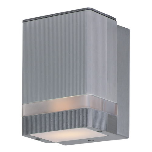 Maxim Lighting Maxim Lighting Lightray Brushed Aluminum LED Sconce 86128AL