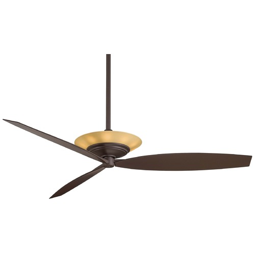Minka Aire Minka Aire Fans Moda Oil-Rubbed Bronze Ceiling Fan with Light F737-ORB