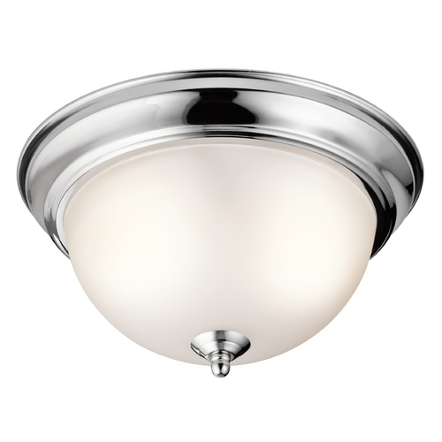 Kichler Lighting Kichler Lighting Chrome Flushmount Light 8111CH