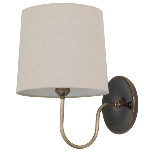 House of Troy Lighting House Of Troy Scatchard Brown Gloss Wall Lamp GS725-BR