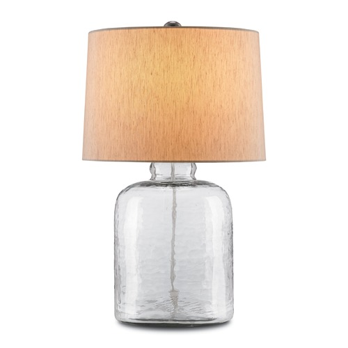 Currey and Company Lighting Currey and Company Lighting Rob Clear Table Lamp with Drum Shade 6172