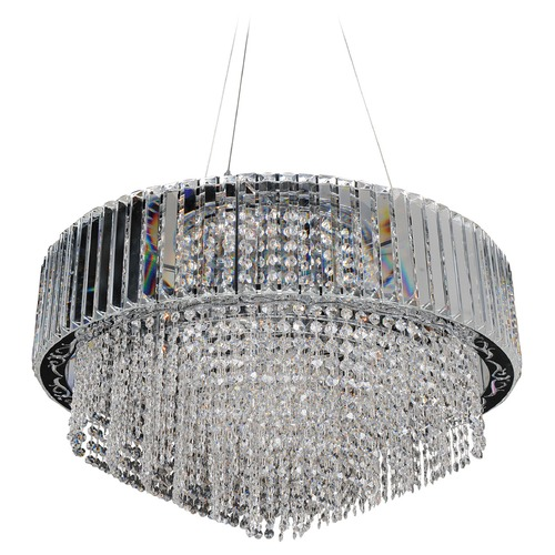 Allegri Lighting Adaliz 28in Round Pendant 022751-010-FR001