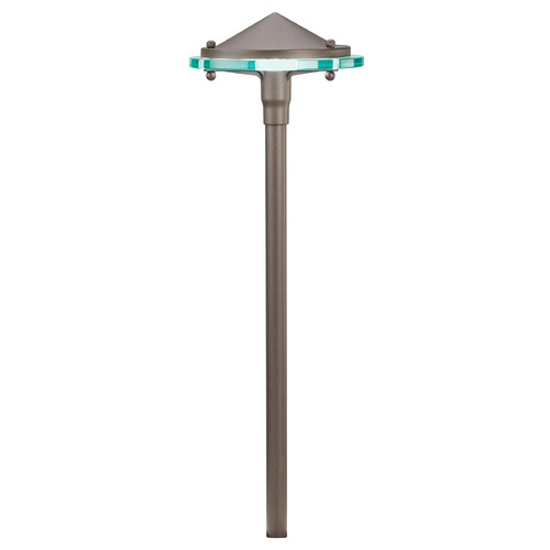 Kichler Lighting Kichler Lighting Textured Architectural Bronze LED Path Light 15817AZT30R