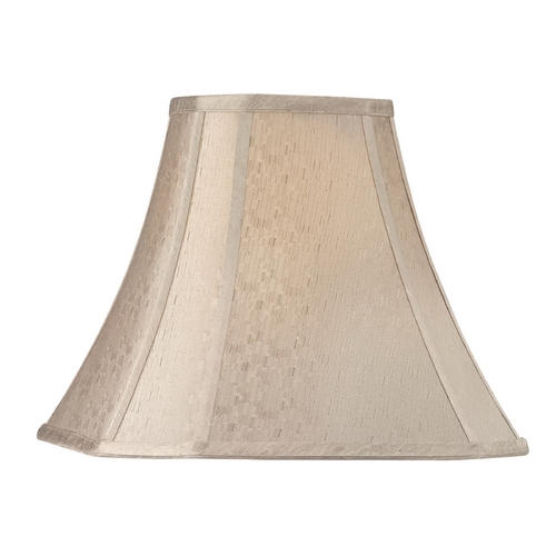 Dolan Designs Lighting Beige Cut Corner Lamp Shade with Spider Assembly 160074