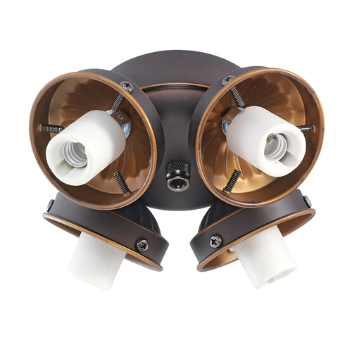 Monte Carlo Fans Light Kit in Roman Bronze Finish H4RB-L