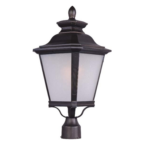 Maxim Lighting Maxim Lighting Knoxville Bronze Post Light 1120FSBZ