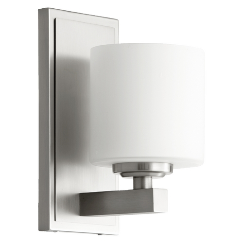 Quorum Lighting Quorum Lighting Satin Nickel Sconce 5669-1-65
