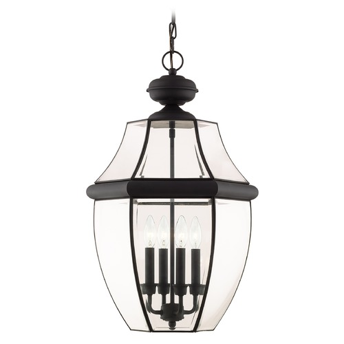 Livex Lighting Livex Lighting Monterey Black Outdoor Hanging Light 2357-04