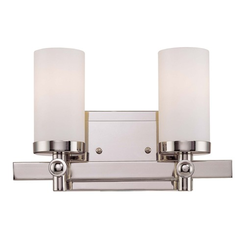 Savoy House Savoy House Polished Nickel Bathroom Light 8-1028-2-109