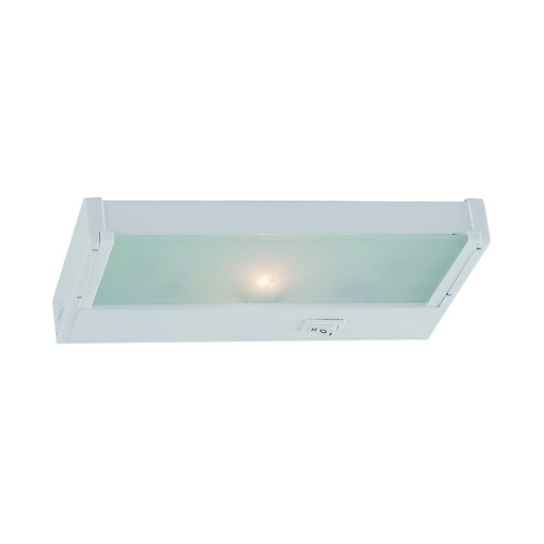 Sea Gull Lighting Sea Gull Lighting White 8.125-Inch Linear Light 98040-15