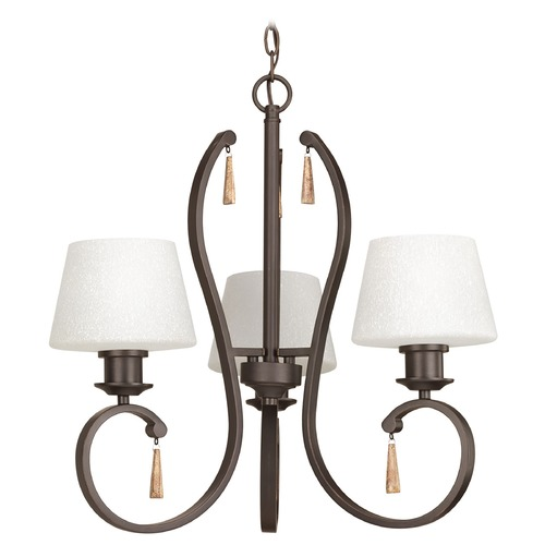 Progress Lighting Progress Lighting Club Antique Bronze Chandelier P4527-20