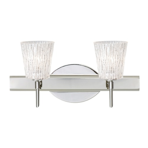 Besa Lighting Besa Lighting Nico Chrome Bathroom Light 2SW-5125GL-CR