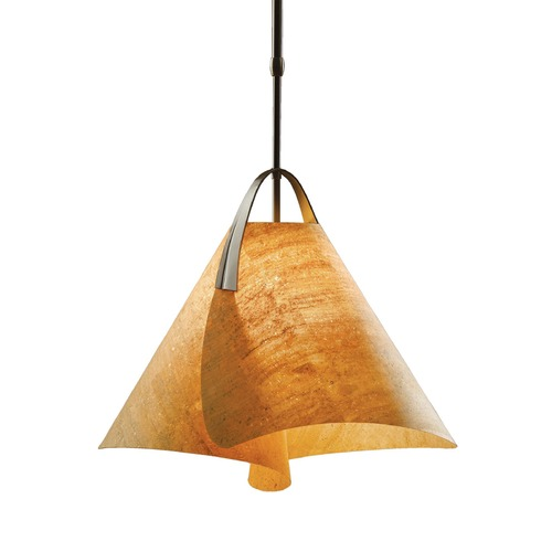 Hubbardton Forge Lighting Hubbardton Forge Lighting Mobius Bronze Pendant Light 134501-05-791