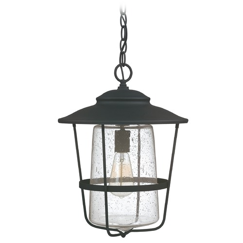 Capital Lighting Capital Lighting Creekside Black Outdoor Hanging Light 9604BK